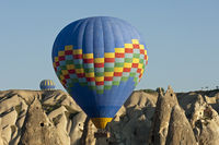 Ballooning in the rock sites of Cappadocia