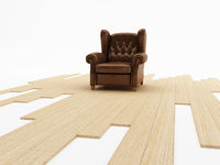Seat and parquet