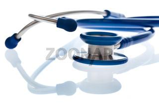 Stethoskop eines Arztes im Krankenhaus