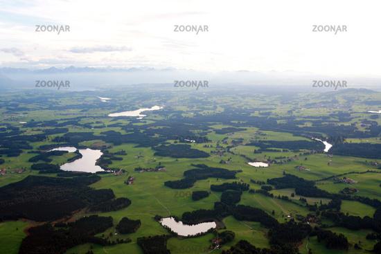 Lech reservoir near Lechbruck