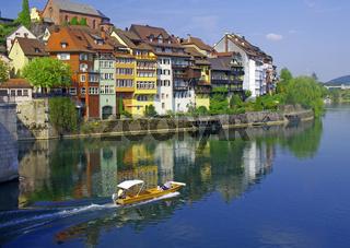 Blick auf die Stadt Lauffenberg