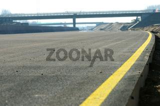 Autobahnbaustelle