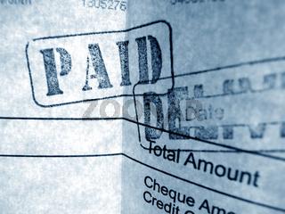 financial Invoice