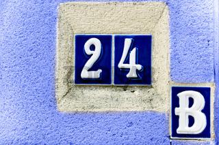 Hausnummer 24 B