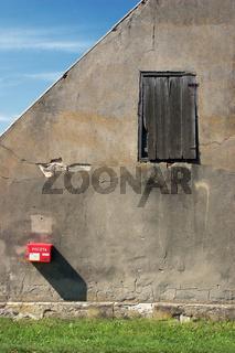 Briefkasten eines kleinen Dorfes in Polen