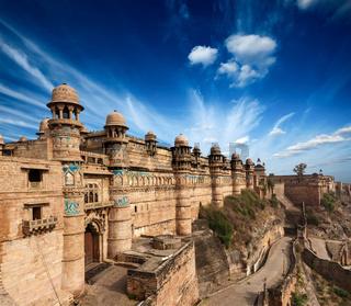 Mughal architecture - Gwalior fort. Gwalior