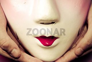 Chinese ancient opera mask