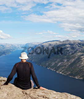 Tourist in Norway