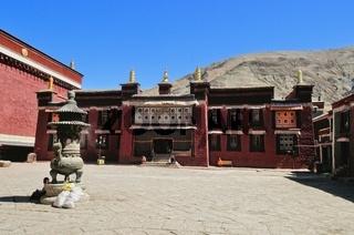 Shigatse  Kloster Sakya  Tibet