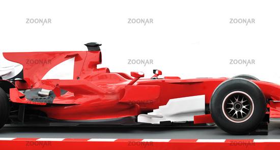 red formel 1 model