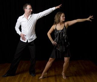 Salsa dancer