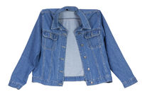 cowboy's  blue cotton  jacket