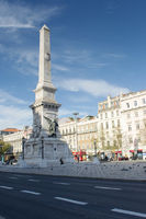 Monument at Lisbon's downtown