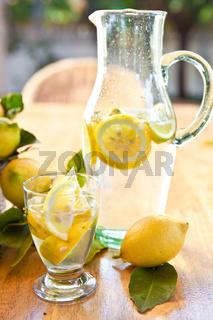 Hausgemachte Limonade
