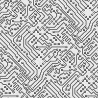 Circuit board computer seamless pattern