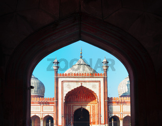 Indian landmark - Jama Masjid mosque