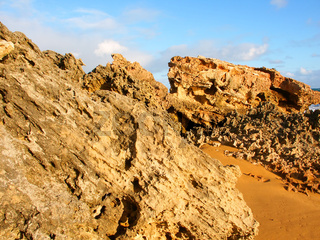 Rugged Victoria Australia Coastline