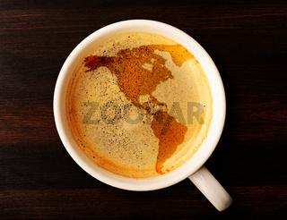 cup of fresh espresso
