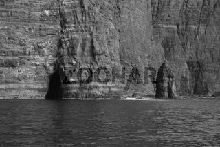 Cliffs of the Vagar island