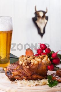 Bayerische Schweinshaxe