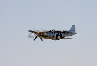 P-51 Mustang in flight