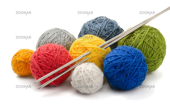 Yarn and needles