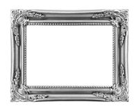 Vintage picture frame, isolated on white