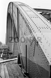 Abbau der Alten Floridsdorfer Brücke