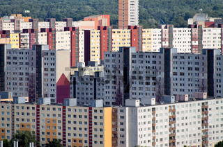 Slowakei, Bratislava, Wohnhäuser