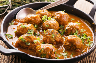 meatballs in the sauce