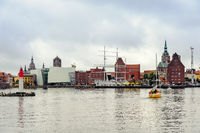 Stralsund harbor