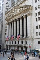 Wall Street, Manhattan in New York City (USA)