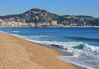 Blanes on the Costa Brava in Spain