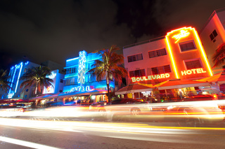Ocean Drive in Miami Beach, Florida