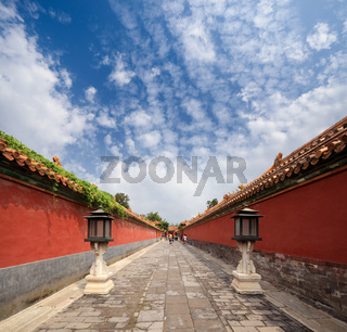 the forbidden city's walls