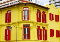 Old house in chinatown, Singapore