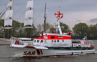 sea rescuer Berlin at Port of Hamburg