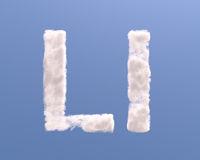 Letter L cloud shape