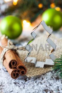 Keksausstecher zu Weihnachten