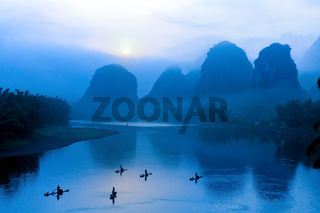 scenery in Guilin, China