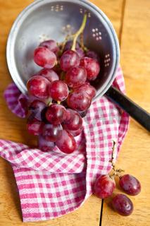 Frische Weintrauben