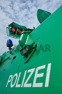 Polizeifahrzeug Police vehicle