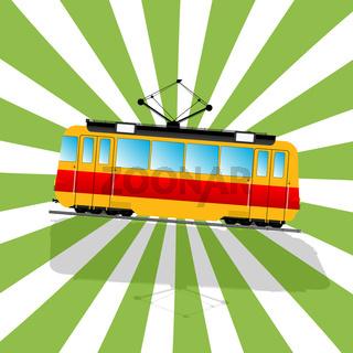 The fantastic Tramcar