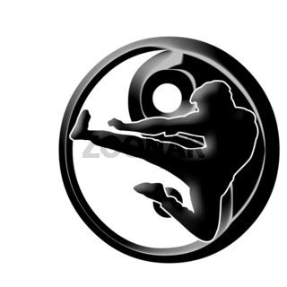 kung fu Logo two