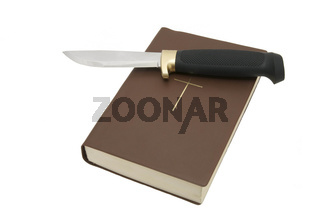Bible and a knife