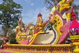 chiang mai flower festival,thailand