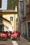 Strassenkaffee in Bardolino Italien
