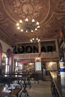 Ornate interior of Pano Restaurant