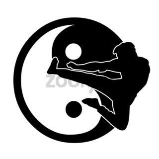 kungfu Logo one
