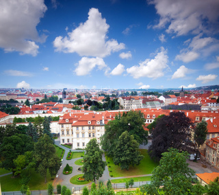 Prague. View from Hradcany